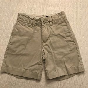 Little boy's GAP Khaki shorts